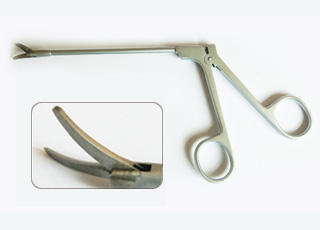 Nasal Scissors Rhinoscopy Right Curved Tip