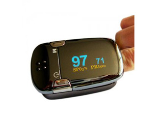 Color OLED Fingertip Pulse Oximeter with Auto Direction OM