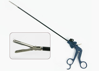 Laparoscopic Atraumatic grasping forceps 5mm x 330mm