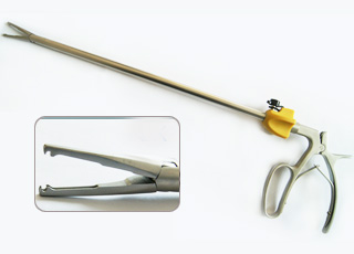 Laparoscopic Clip Applier compatible with XL Hem-O-Lok Clips